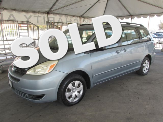 2005 Toyota Sienna CE This particular Vehicle comes with 3rd Row Seat Please call or e-mail to ch