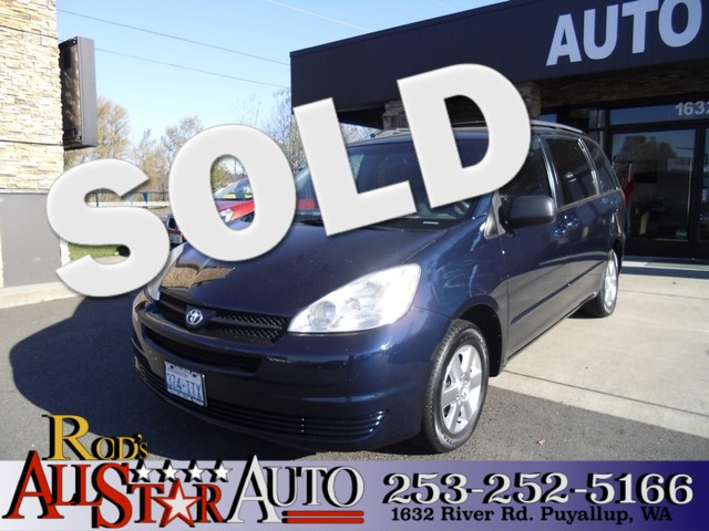 2005 Toyota Sienna LE Aside from from its reliability quality and high resale value this 2005 T