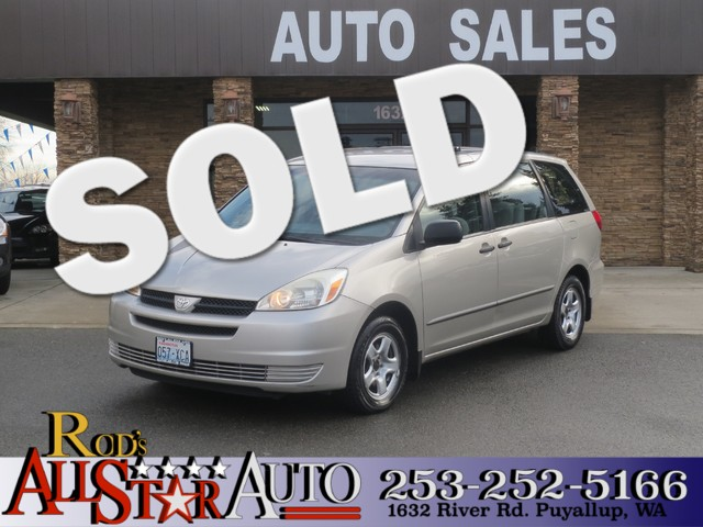 2005 Toyota Sienna CE The CARFAX Buy Back Guarantee that comes with this vehicle means that you ca