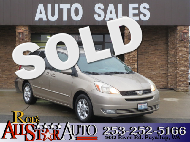 2005 Toyota Sienna XLE A staple in mini-vans our 2005 used Toyota Sienna has all the goodies XLE