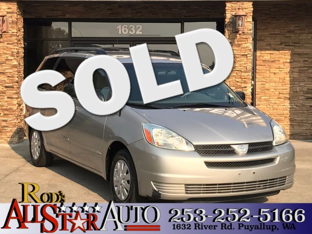2005 Toyota Sienna LE The CARFAX Buy Back Guarantee that comes with this vehicle means that you ca