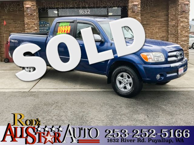 2005 Toyota Tundra SR5 4WD The CARFAX Buy Back Guarantee that comes with this vehicle means that y