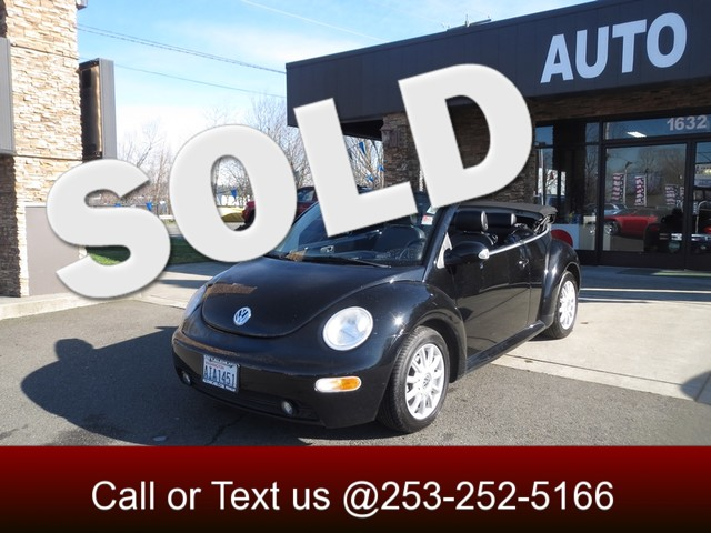2005 Volkswagen New Beetle GLS The CARFAX Buy Back Guarantee that comes with this vehicle means th