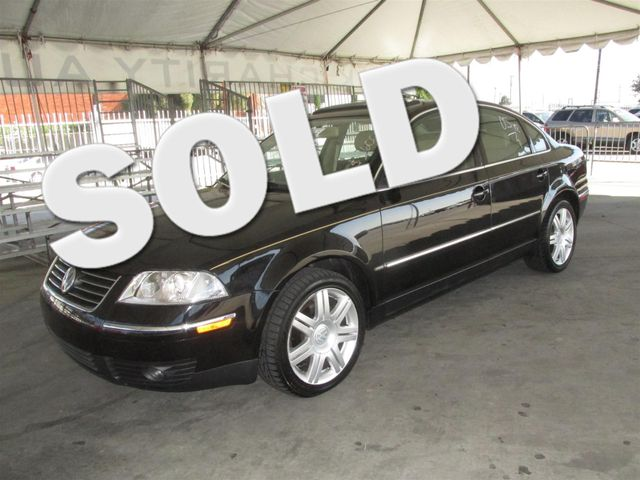 2005 Volkswagen Passat GLX Please call or e-mail to check availability All of our vehicles are