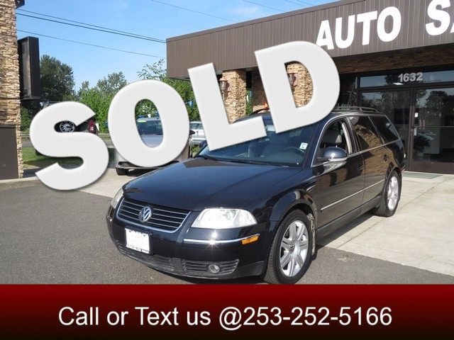 2005 Volkswagen Passat TDI The CARFAX Buy Back Guarantee that comes with this vehicle means that y