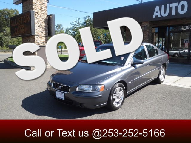 2005 Volvo S60 25T AWD The CARFAX Buy Back Guarantee that comes with this vehicle means that you
