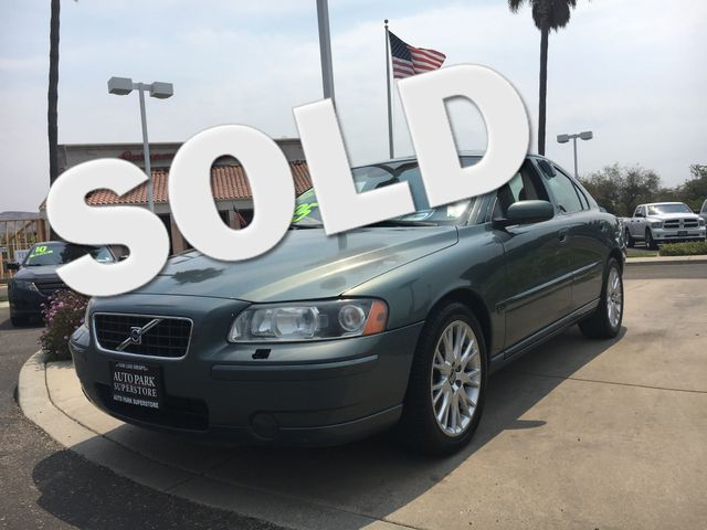 2005 Volvo S60 This is not your dads car Its turbo-charged for added power and performance VI