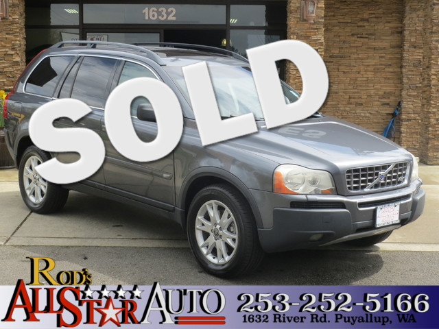 2005 Volvo XC90 AWD The CARFAX Buy Back Guarantee that comes with this vehicle means that you can