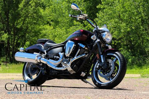 2005 Yamaha Road Star Warrior Power Cruiser with Fuel Injected 102ci V-Twin & Only 2,823 Miles in Eau Claire