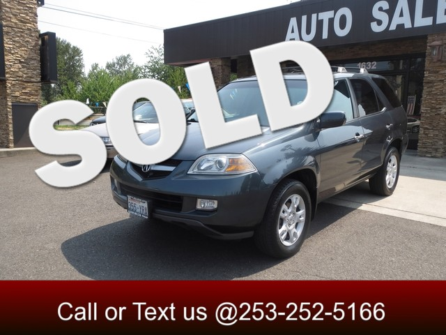 2006 Acura MDX Touring RES AWD Leather DVD Moonroof Navigation Third Row Seats This car is fr