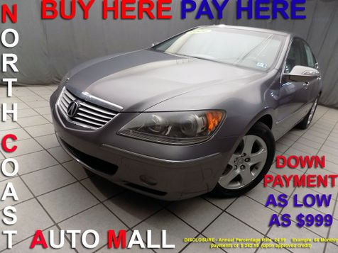 2006 Acura RL  As low as $999 DOWN in Cleveland, Ohio
