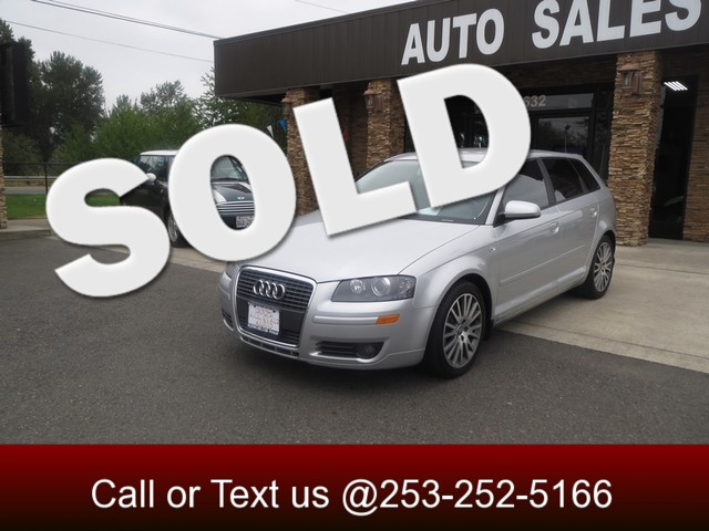 2006 Audi A3 wSport Pkg 6 SPEED MANUAL - TURBOCHARGED ENGINE - 32 MPG - 2 OWNER - 118K MILES The