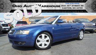 2006 Audi A4 3.0L V6 AWD Convertible Cln Carfax We Finance   Canton, Ohio   Ohio Auto Warehouse LLC in  Ohio