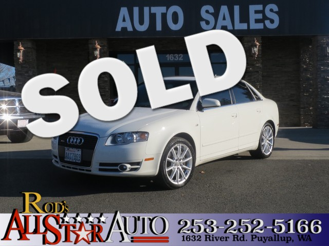 2006 Audi A4 20T AWD The CARFAX Buy Back Guarantee that comes with this vehicle means that you ca