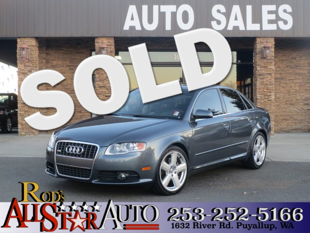 2006 Audi A4 20T AWD S The CARFAX Buy Back Guarantee that comes with this vehicle means that you