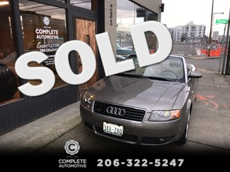 2006 Audi A4 3.0 Quattro Cabriolet Convertible All Wheel Drive Local History Since New Heated Seats Xenon in Seattle,