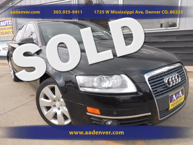 2006 Audi A6 3.2L Quattro | Denver, CO | A&A Automotive of Denver in Denver CO