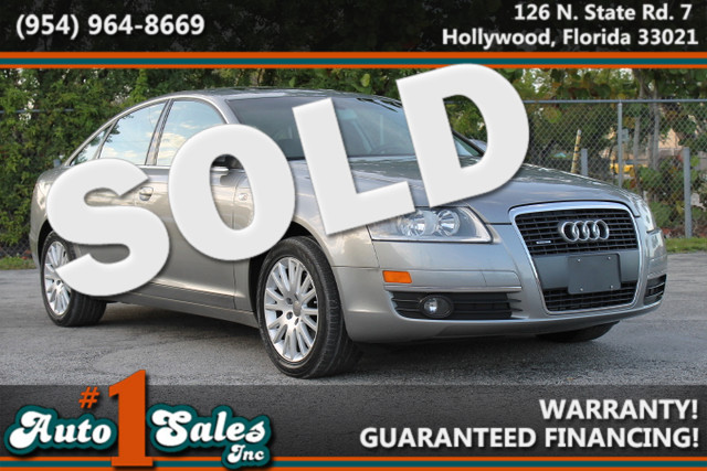2006 Audi A6 32L  WARRANTY CARFAX CERTIFIED AUTOCHECK CERTIFIED 2 OWNERS 17 SERVICE RECORD