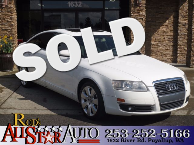 2006 Audi A6 32L AWD The CARFAX Buy Back Guarantee that comes with this vehicle means that you ca