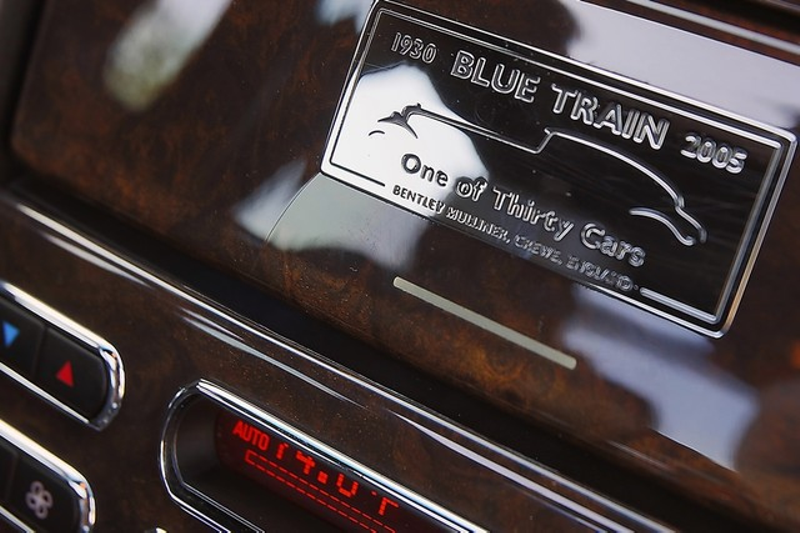 2006 Bentley Arnage R - BLUE TRAIN EDITION - 130 MADE  city California  MDK International  in Los Angeles, California
