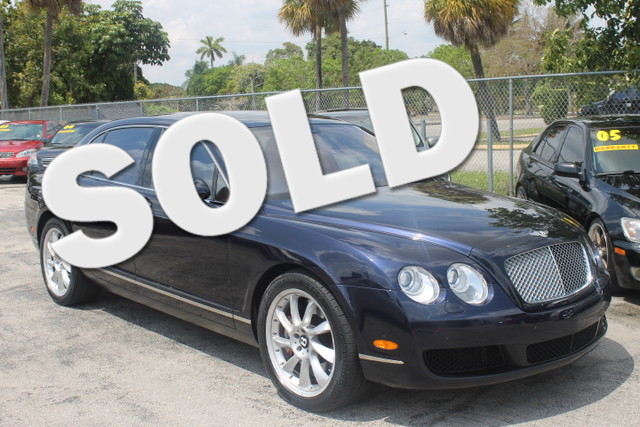 2006 Bentley Continental Flying Spur  THOUSANDS BELOW SUGGESTED RETAIL PRICE LOW MILEAGE