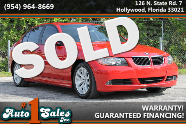 2006 BMW 325i  WARRANTY CARFAX CERTIFIED 3 OWNERS 6 SERVICE RECORDS FLORIDA VEHICLE TRADES