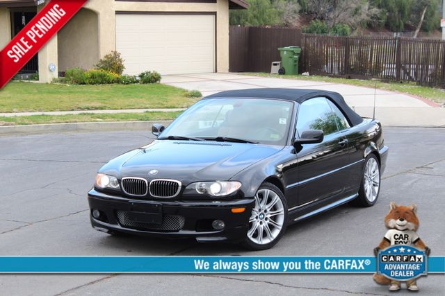2006 BMW 330Ci ZHP PACKAGE NAVIGATION ONLY 92K ORIGINAL MLS XENON LEATHER ZHP ALLOY WHLS Woodland Hills, CA 0