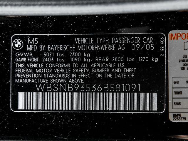 2006 BMW M Models M5 Burbank, CA 34