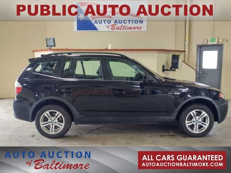 2006 BMW X3 3.0i  | JOPPA, MD | Auto Auction of Baltimore  in JOPPA MD