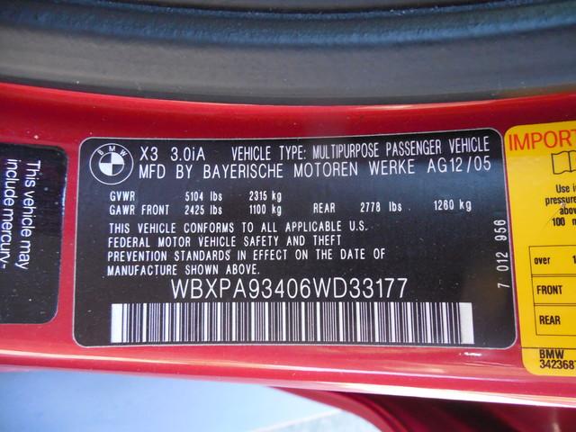 2006 BMW X3 3.0i Leesburg, Virginia 24