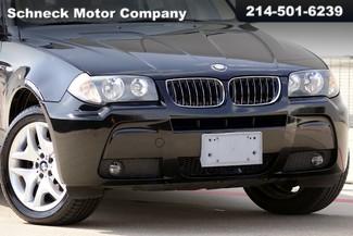 "2006 BMW X3 3.0i ""M"" sport package Plano, TX 1"