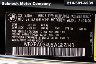 "2006 BMW X3 3.0i ""M"" sport package Plano, TX 36"