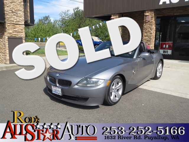 2006 BMW Z4 30i Low miles and lots of fun This 06 BMW drop top comes with a powerful I6 engine