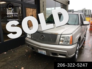 2006 Cadillac Escalade All Wheel Drive Luxury Navigation  Local History Rebuilt Transmission NICE! ON SALE! in Seattle,