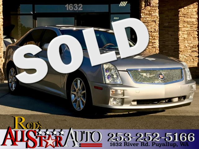 2006 Cadillac STS The CARFAX Buy Back Guarantee that comes with this vehicle means that you can bu