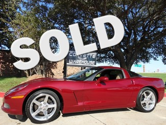 2006 Chevrolet Corvette Coupe 3LT, NAV, Auto, Polished Wheels, 87k! Dallas, Texas