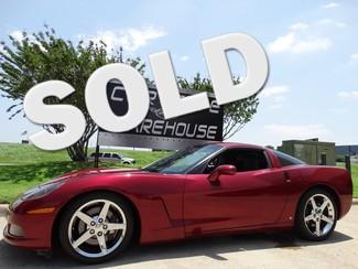 2006 Chevrolet Corvette Coupe 3LT, Z51, 6 Speed, NAV, Chromes 66k! Dallas, Texas