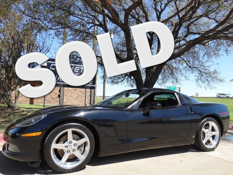 2006 Chevrolet Corvette Coupe Auto, Polished Wheels, One-Owner!