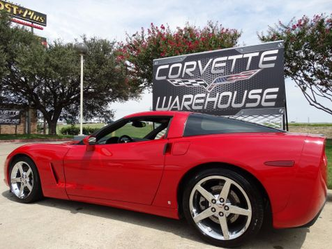 2006 Chevrolet Corvette Coupe 3LT, Auto, NAV, Z51, Borla, Chromes 70k! | Dallas, Texas | Corvette Warehouse  in Dallas, Texas