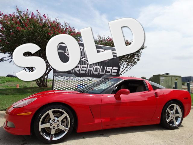 2006 Chevrolet Corvette Coupe 3LT, Auto, NAV, Z51, Borla, Chromes 70k! | Dallas, Texas | Corvette Warehouse