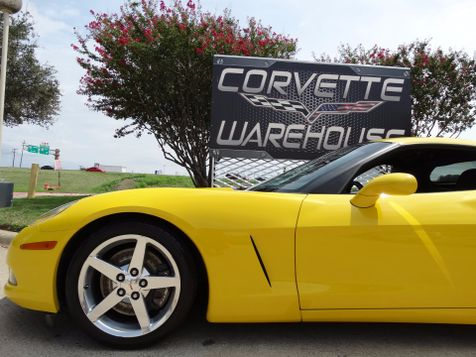 2006 Chevrolet Corvette Coupe 2LT, Z51, 6-Speed, Polished Wheels 45k! | Dallas, Texas | Corvette Warehouse  in Dallas, Texas