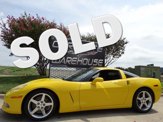 2006 Chevrolet Corvette Coupe 2LT, Z51, 6-Speed, Polished Wheels 45k! | Dallas, Texas | Corvette Warehouse