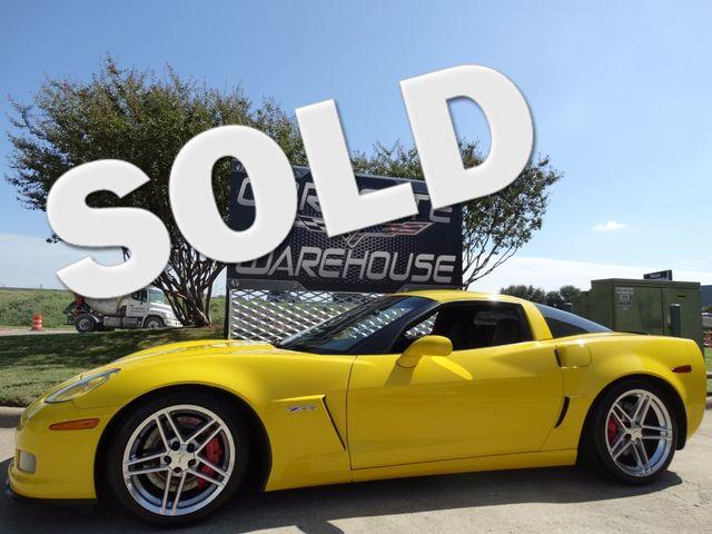 2006 Chevrolet Corvette Z06 Hardtop 2LZ, NAV, NPP, Chromes 73k! | Dallas, Texas | Corvette Warehouse