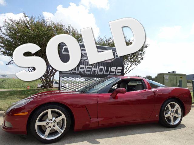 2006 Chevrolet Corvette Coupe 3LT, Z51, NAV, Polished Wheels 59k! | Dallas, Texas | Corvette Warehouse