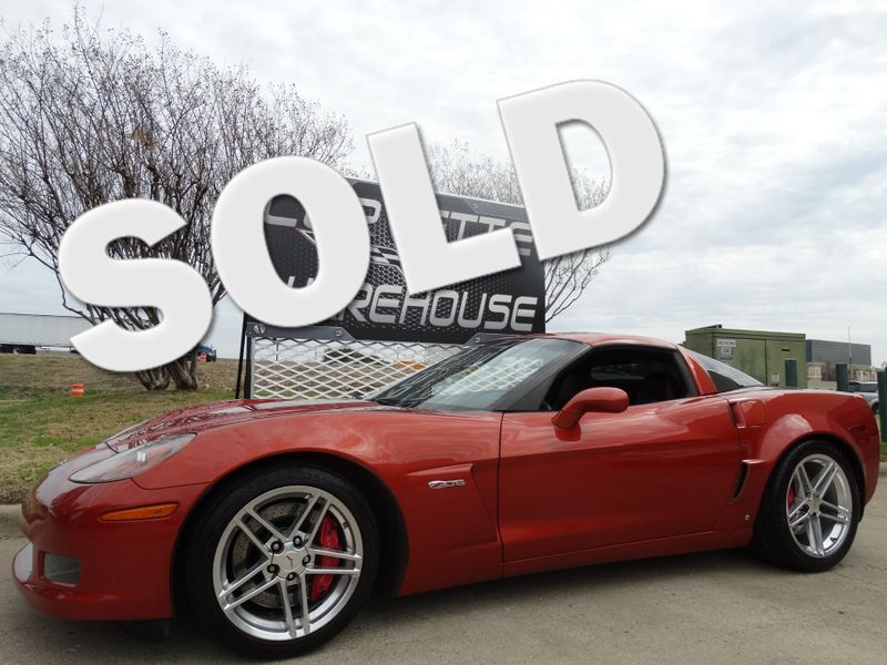 2006 Chevrolet Corvette Z06 2LZ, TT Seats, Polished Wheels 61k! | Dallas, Texas | Corvette Warehouse