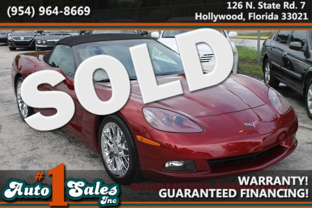 2006 Chevrolet Corvette  WARRANTY 3 OWNERS 32 SERVICE RECORDS Enjoy the Florida sun with
