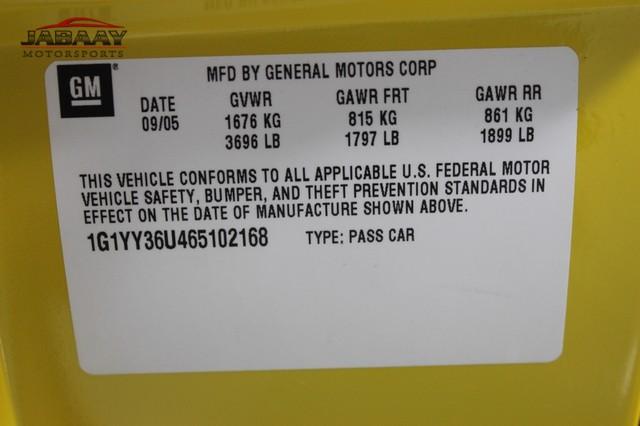 2006 Chevrolet Corvette Merrillville, Indiana 49