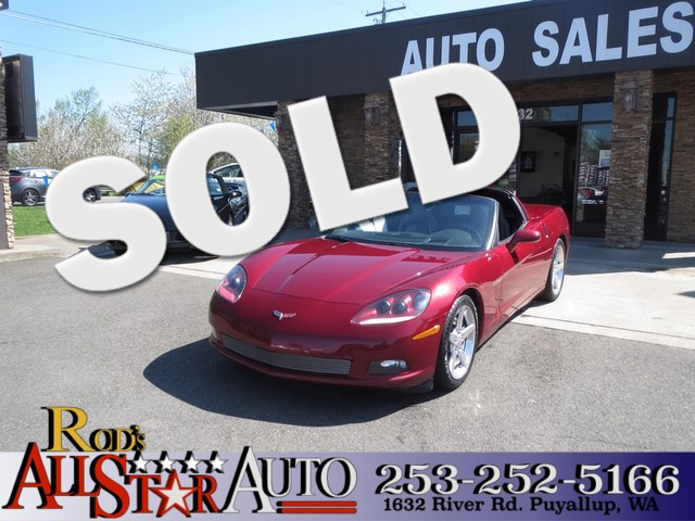 2006 Chevrolet Corvette The CARFAX Buy Back Guarantee that comes with this vehicle means that you