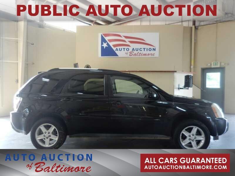 2006 Chevrolet Equinox LT   JOPPA, MD   Auto Auction of Baltimore  in JOPPA MD