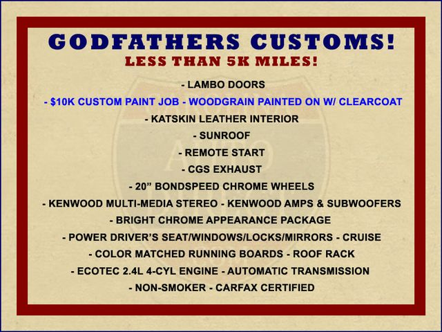 2006 Chevrolet HHR LT - GODFATHERS CUSTOMS - LAMBO DOORS! Mooresville , NC 1